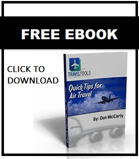 Quick tips for air travel eBook